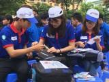 Đội hình thanh niên tình nguyện: Sẵn sàng tiếp sức mùa thi