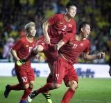 Cầu thủ Bình Dương tỏa sáng trong màu áo tuyển Việt Nam