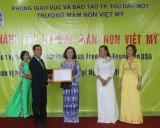 Thành lập trường mầm non Việt Mỹ