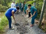 Ban chỉ huy quân sự phường Vĩnh Phú (Tx.Thuận An): Ra quân thực hiện công tác dân vận