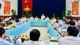 Đoàn lãnh đạo Tỉnh ủy làm việc với Thị ủy Dĩ An về công tác lãnh đạo, chỉ đạo thực hiện nhiệm vụ 6 tháng đầu năm