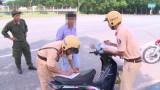 Tăng cường xử lý vi phạm an toàn giao thông trong khu vực đông dân cư