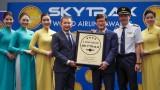 越航连续第四年荣获四星级航空公司认证