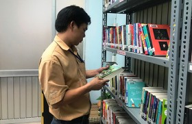 To enhance reading culture among workers