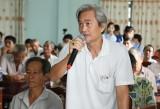 Cử tri phường Khánh Bình và xã Thạnh Hội (TX.Tân Uyên):Kiến nghị nhiều vấn đề liên quan đến vấn đề dân sinh