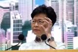 Sóng gió bủa vây Trưởng đặc khu Hong Kong Carrie Lam