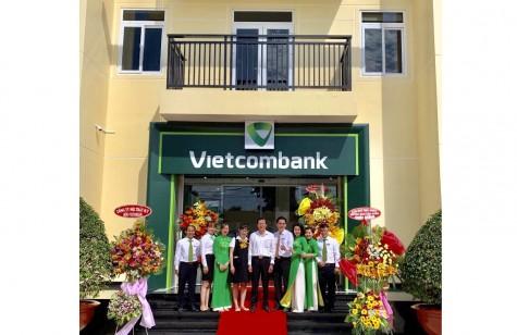 Vietcombank Bình Dương: Đưa vào hoạt động Phòng Giao dịch Bắc Tân Uyên
