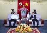 Lãnh đạo tỉnh tiếp đại diện các doanh nghiệp Singapore và Tổng lãnh sự Malaysia