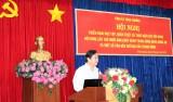 Tỉnh ủy triển khai học tập, quán triệt và thực hiện các nội dung Hội nghị Trung ương 10, khóa XII