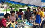 Công đoàn ngành y tế tổ chức hội thi nấu ăn và cắm hoa