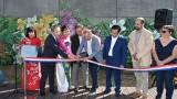 越南画家在法国制作的壁画落成