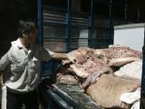 Ngăn chặn thịt không rõ nguồn gốc tuồn vào chợ Đông Đô