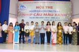 34 thí sinh tham gia hội thi Người dẫn chương trình Nhịp cầu màu xanh