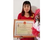 Chị Vũ Thị Luân: Cộng tác viên dân số tiêu biểu