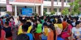 """Đoàn cơ sở Phòng Cảnh sát PCCC-CNCH Công an tỉnh: Phối hợp thực hiện chương trình """"Một ngày em làm lính cứu hỏa"""""""