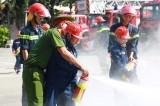 Trang bị kỹ năng chữa cháy và phòng chống đuối nước cho thiếu nhi