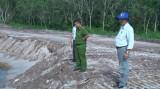 TX.Bến Cát: Kiểm tra việc khai thác khoáng sản