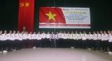 省内38名学生、青年赴日本工作