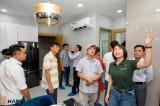 Hơn 800 khách hàng tham dự chương trình Khai trương căn hộ mẫu Happy One