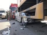Nhiều người thoát chết sau tai nạn liên hoàn trên quốc lộ 1