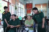 Thăm, tặng quà thương, bệnh binh tại Trung tâm Điều dưỡng Long Đất