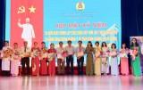 省卫生部门工会向81名典型基层工会干部给予表彰