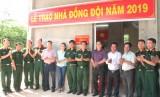 Lực lượng vũ trang tỉnh: Phong phú hoạt động đền ơn đáp nghĩa