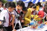 TX.Bến Cát: 500 học sinh trải nghiệm Ngày hội STEM năm 2019