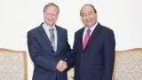 越南政府总理阮春福会见欧盟驻越南代表团团长