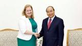 阮春福总理会见爱尔兰驻越南大使