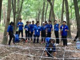 Các đội thanh niên tình nguyện TP.Thủ Dầu Một: Tổ chức trò chơi lớn liên trường năm 2019