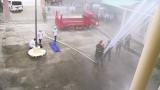 Bắc Tân Uyên: Diễn tập phòng cháy chữa cháy và cứu hộ cứu nạn tại trụ sở cơ quan