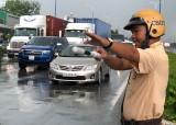 Sau 1 tháng tăng cường điều tiết, xử lý vi phạm giao thông ở các giao lộ trọng điểm: Số vụ vi phạm giảm nhiều