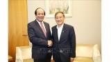 越南政府办公厅主任梅进勇部长对日本进行工作访问
