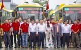Đưa vào hoạt động tuyến buýt công nghệ, thân thiện môi trường