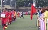 Công đoàn các Khu công nghiệp Bình Dương: Khai mạc giải bóng đá mini nam - nữ