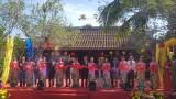 第五届越南-世界丝绸土锦文化节在会安开幕
