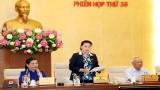 越南国会常委会召开第36次会议