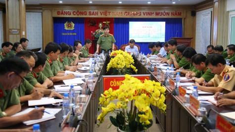 Đảng bộ Công an tỉnh: Sơ kết công tác 6 tháng đầu năm