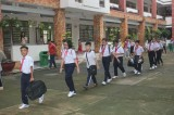 Students eagerly return to school