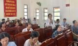 Đại biểu HĐND tỉnh tiếp xúc cử tri TP.Thủ Dầu Một
