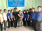 Thị đoàn Dĩ An bàn giao Nhà nhân ái tại tỉnh Kiên Giang