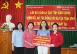 Bình Dương: Hỗ trợ 300 triệu đồng cho đồng bào bị thiệt hại do mưa lũ ở huyện Tánh Linh