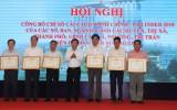 Khen thưởng 21 tập thể có thành tích tốt trong công tác CCHC