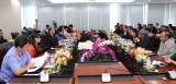 Đoàn đại biểu HĐND tỉnh Champasak (Lào) thăm và làm việc tại Bình Dương