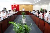 Tỉnh ủy gặp gỡ Đoàn công tác của Ủy ban MTTQ Việt Nam tỉnh trước chuyến công tác tại tỉnh Champasack (Lào)