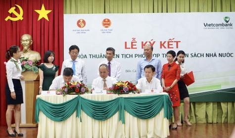 Ký kết phối hợp thu nhân sách trên địa bàn huyện Dầu Tiếng