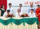 Vietcombank Bắc Bình Dương: Ký kết phối hợp thu ngân sách trên địa bàn huyện Dầu Tiếng
