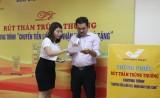 Bưu điện tỉnh: Rút thăm trúng thưởng dành cho khách hàng sử dụng dịch vụ