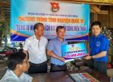 Đoàn Thanh niên Công ty Cao su Dầu Tiếng: Thực hiện công tác tình nguyện quốc tế tại Campuchia